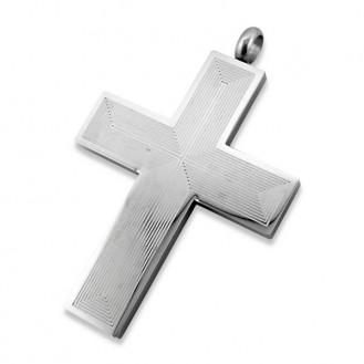 """Ocelový přívěsek z chirurgické oceli """"Kříž"""""""